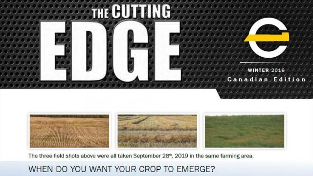 The Bourgault Cutting Edge Publication !!!
