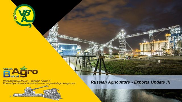 Volga Baikal AGRO NEWS Update on the Russian Exports !!!