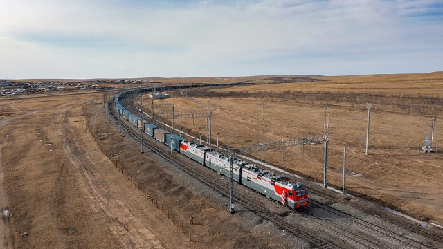 Volga Baikal AGRO News Update on Russian Railways Electrification of the last Section of the Railway to the border with China !!!