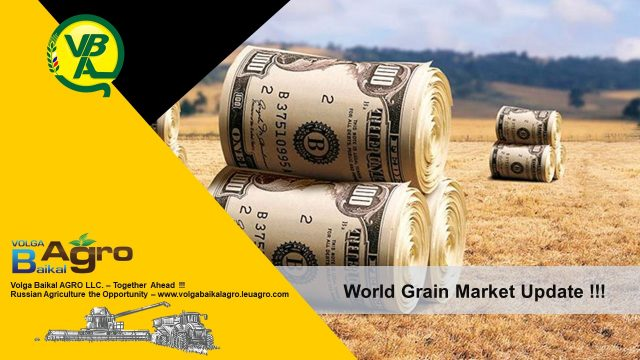 Volga Baikal AGRO NEWS Update on the World Grain Market !!!