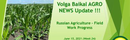 Volga Baikal AGRO News Update on the Russian Agriculture Seasonal Spring Field Work Progress !!!