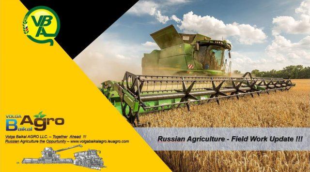 Russian Agriculture Seasonal Field Work Progress as of 15.9.2021 !!!